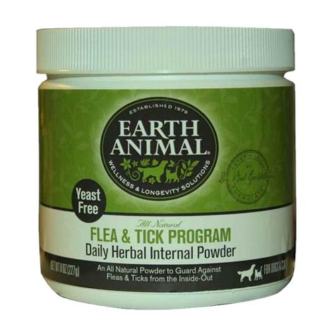 Earth Animal Flea and Tick Program Daily Herbal Internal Powder