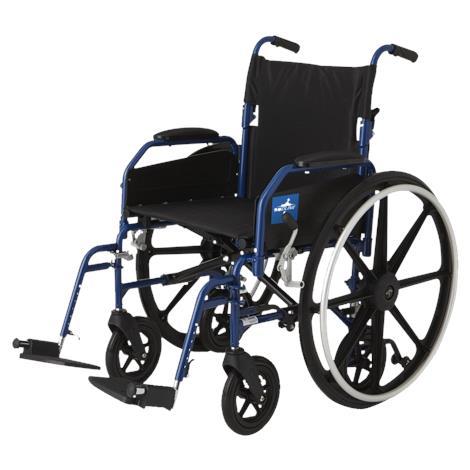 Medline Hybrid Two Transport Wheelchair