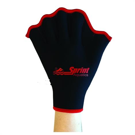 Sprint Aquatics Velcro All Neoprene Gloves