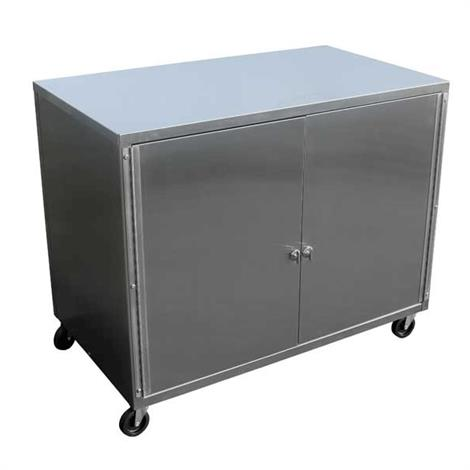 Ideal Specialty Cabinet Cart With Concealing Doors