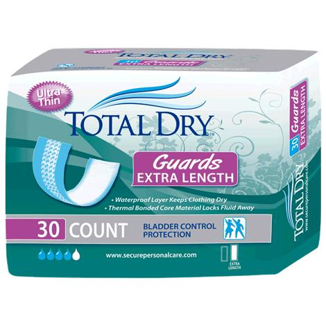 Secure Personal Care TotalDry Extra-Length Guards