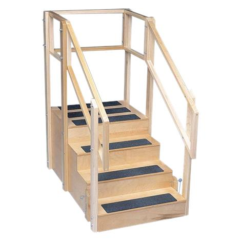 Bailey Straight Three Sided Training Stairs