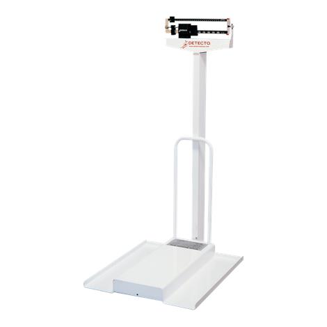 Buy Detecto 485 Mechanical Stationary Wheelchair Scales