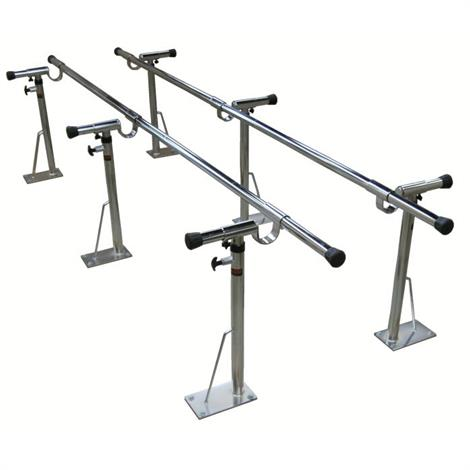 Bailey Adjustable Height and Width Bariatric Parallel Bars