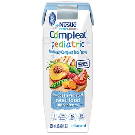 Buy Nestle Compleat Pediatric Real Food Tube Feeding Nutritional Supplement
