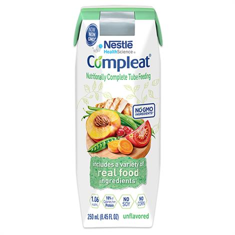 Buy Nestle Compleat Real Food Tube Feeding Formula With SpikeRight Plus Port