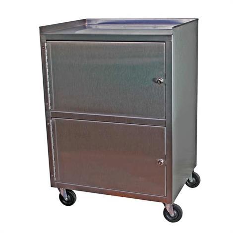 Buy Ideal Standard Duty Three Shelf Mobile Dual Cabinet Cart