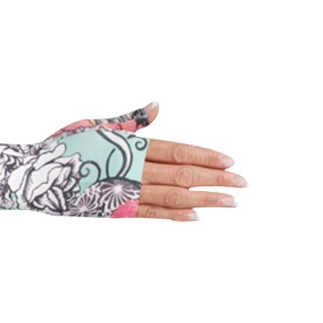 LympheDivas Tattoo Blossom Compression Gauntlet