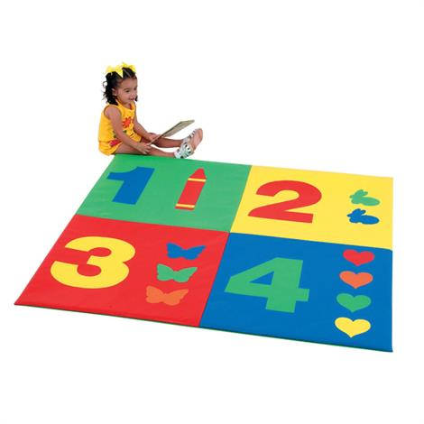 Buy Childrens Factory 1-2-3-4 Mat