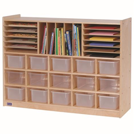 Buy Childrens Factory Angeles Birch Multi-Section Storage