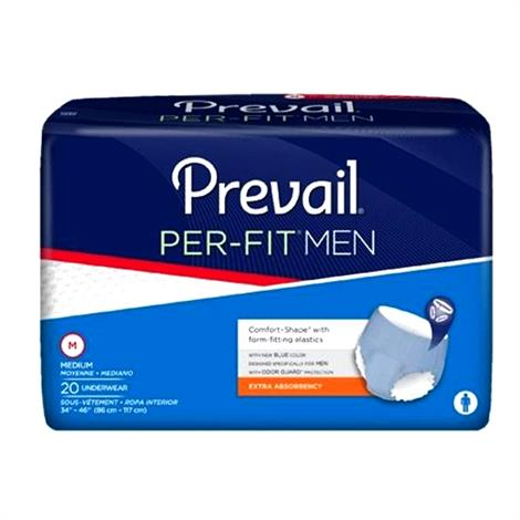 Prevail Per-Fit Underwear For Men - Moderate/Max Absorbency
