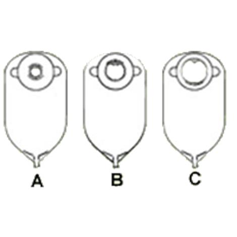 Nu-Hope Convex Round Cut-To-Fit Post-Operative Adult Urinary Pouch