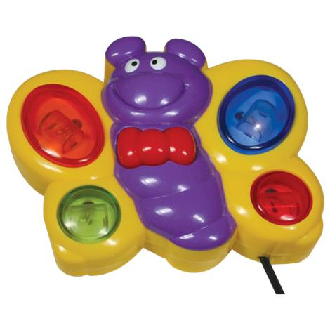 Light and Sound Butterfly Visual Stimulation Toy