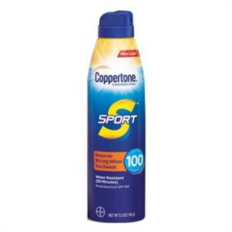 Bayer Coppertone Sport Continuous Sunscreen Spray
