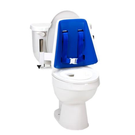 Columbia Hi-Back Toilet Support System with Padded Back