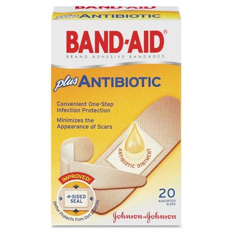 Buy BAND-AID Antibiotic Bandages