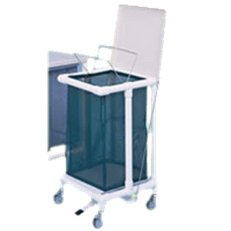 Duralife Laundry Hamper With Footpedal Medical Hampers
