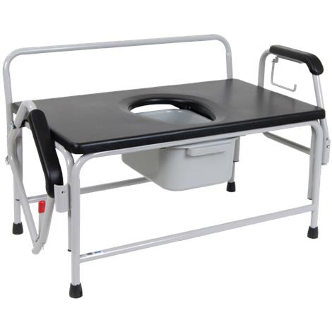 Drive Bariatric Extra Large Drop Arm Commode