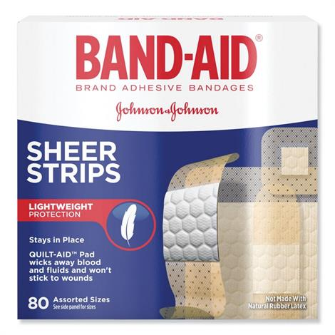 Buy BAND-AID Tru-Stay Sheer Strips Adhesive Bandages