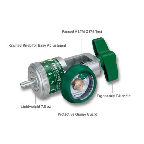 Precision Medical EasyDial Reg Oxygen Regulator