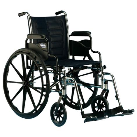 Invacare Tracer IV 20 Inches Desk-Length Arms Wheelchair