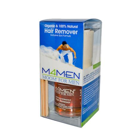 Moom Organic Hair Removal System Kit For Men