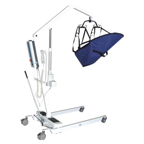 Drive Battery Powered Patient Lift With Six Point Cradle And Wall Mount