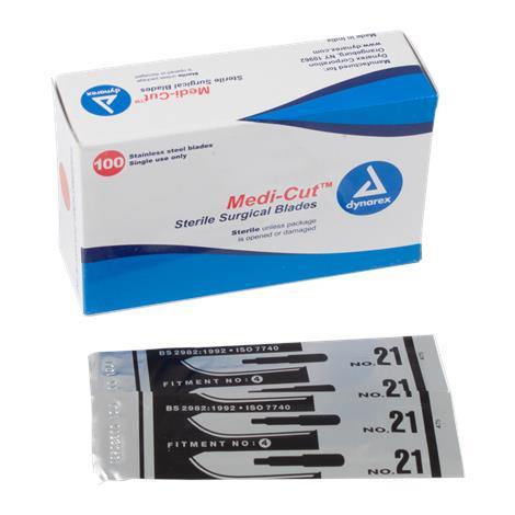 Dynarex Medicut Stainless Steel Surgical Blade