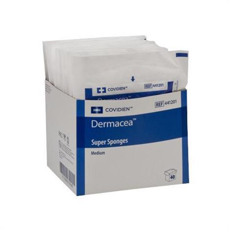 Medtronic Covidien Dermacea Medium Gauze Super Sponge