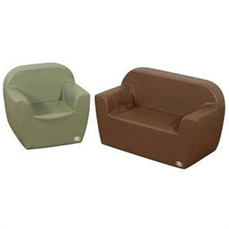 Childrens Factory Club 2 Piece Woodland Furniture Group Seating