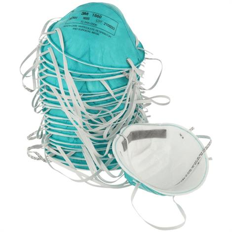 3M Particulate N95 Respirator and Surgical Regular Size Mask