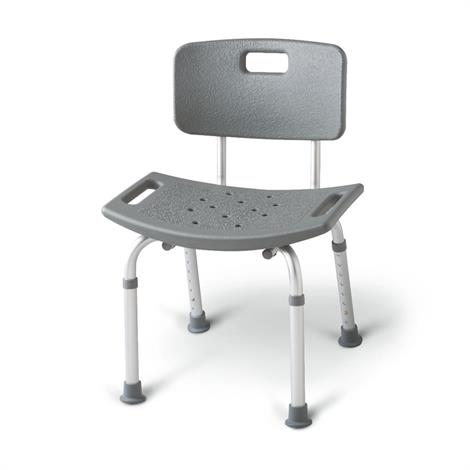 Medline Bath Bench Shower Chair With Back