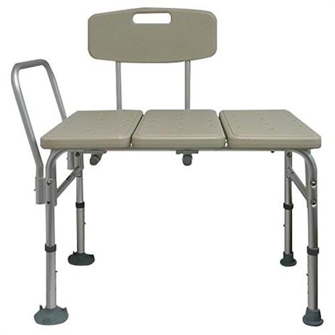 ConvaQuip Heavy Duty Tub Transfer Bench With Reversible Back