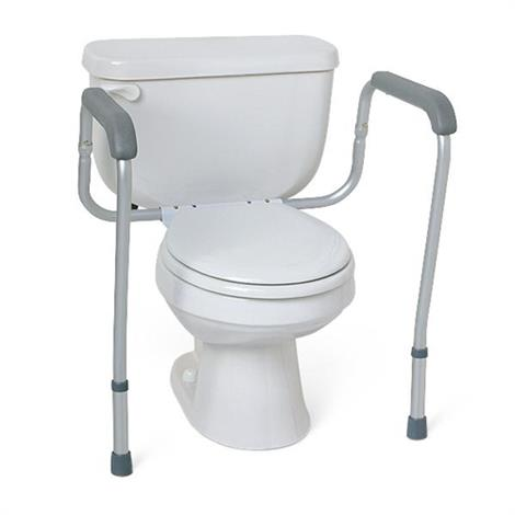 Medline Aluminum Foldable Toilet Safety Rail