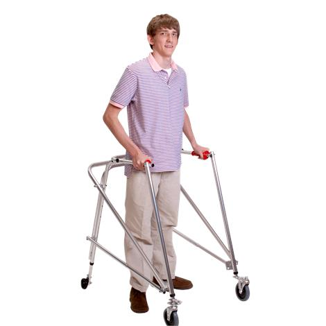 Kaye Posture Control Four Wheel Large Walker With Front Swivel Wheel