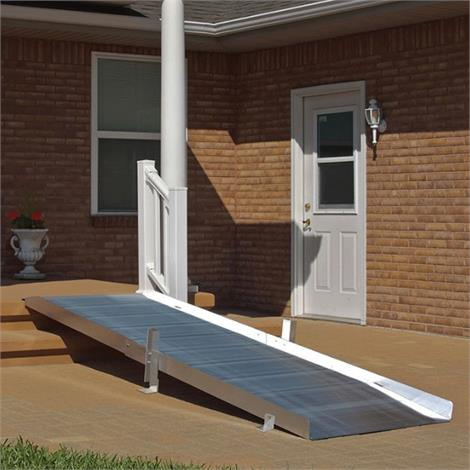 PVI Aluminum OnTrac Ramp without Handrail
