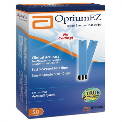 Buy Abbott Optium EZ Blood Glucose Test Strip