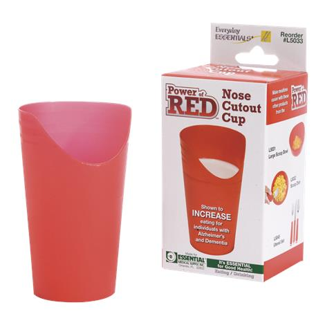 Essential Medical Power of Red Nose Cutout Cup