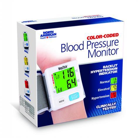 Buy Jobar Color Coded Slim Wrist Blood Pressure Monitor