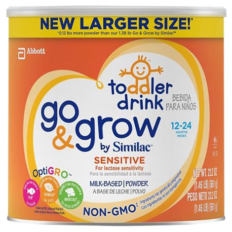 Abbott Similac Sensitive Go & Grow Non-GMO Toddler Powder