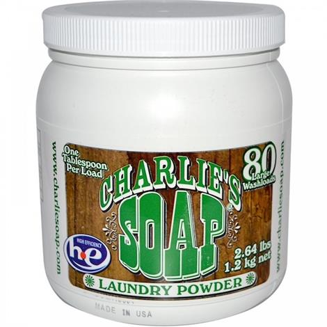 Charlies Soap Laundry Detergent Powder