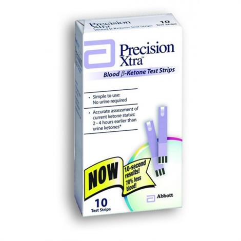 Buy Abbott Precision Xtra Blood Ketone Test Strips