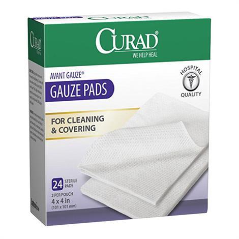 Medline Curad Hospital Quality Sterile Avant Gauze Pads