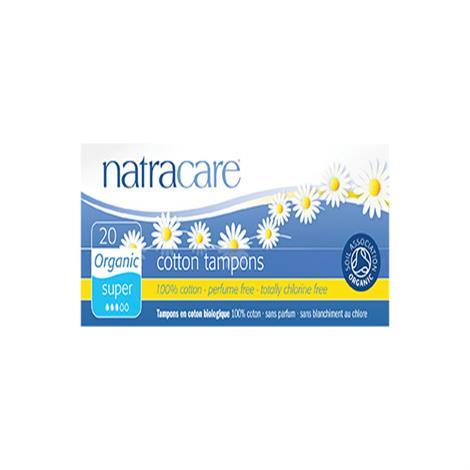 Natracare Organic Super Non Applicator Tampons