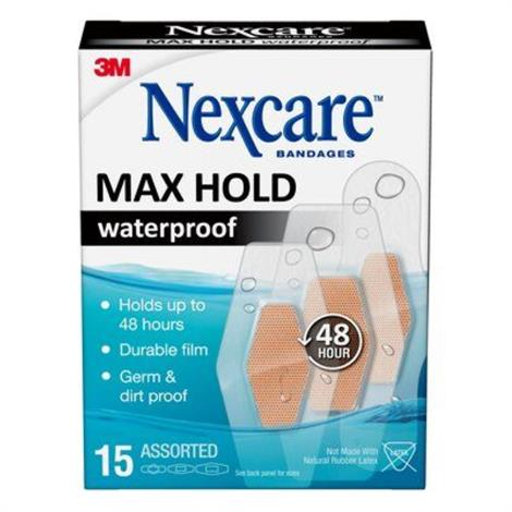 Buy 3M Nexcare Max Hold Waterproof Bandages