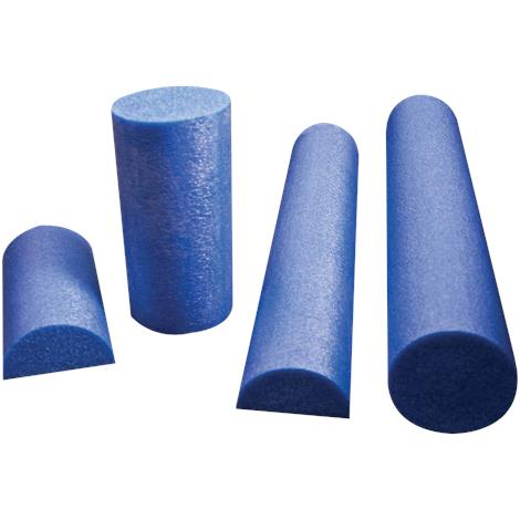 CanDo Six Inches Blue Foam Rollers