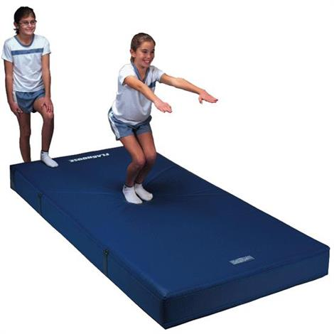 flaghouse 4 inches thick safety mats  exercise mats