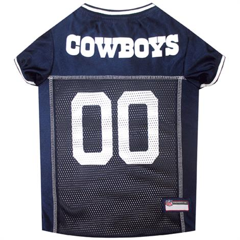 6d1ac5990 Pets First Dallas Cowboys Gray Trim Mesh Dog Jersey | Pet Care