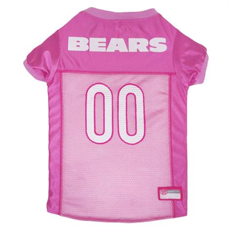 finest selection 38eef 37e2d Pets First Chicago Bears Pink Mesh Dog Jersey