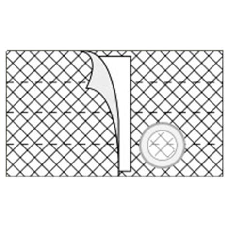 Nu-Hope Nu-Form 8 Inches (20.3cm) Wide Left Sided Cool Comfort Elastic Support Belt